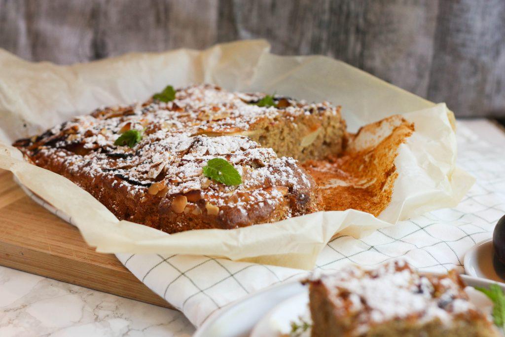 Apfel Zwetschgen Kuchen Vom Blech Myriefood